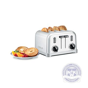 Our Metal Classic 4-Slice Toaster