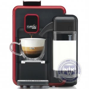 Caffitaly S22 Cappuccina OTC One Touch Cappuccino Red/Black