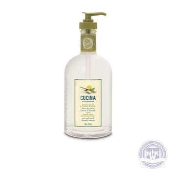Cucina Hand Soap Sea Salt and Amalfi Lemon