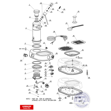 All Espresso Machine Parts