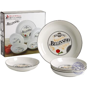 Bellissimo 5pc Pasta Bowl SET