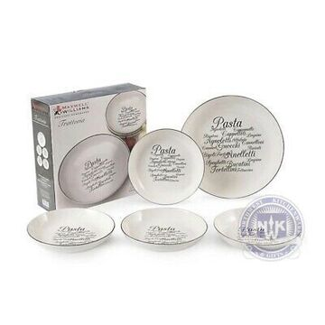 5pc Trattoria Pasta Bowl Set