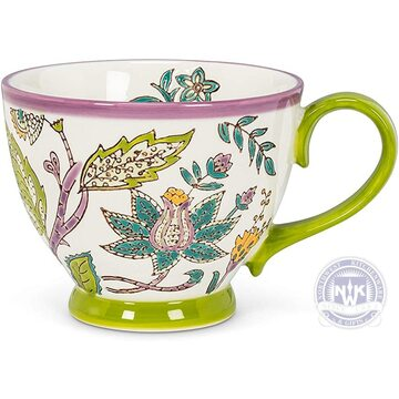 Chintz Floral Cup Set of 4