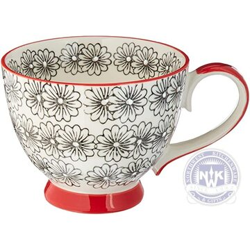 Chintz Daisy Cup Set of 4